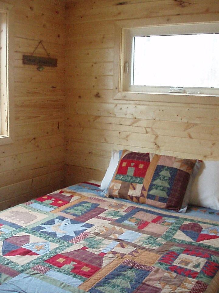 Cabin's Master Bedroom