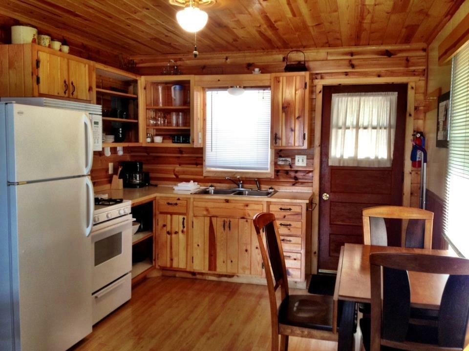 Small cabin kitchen & dinette