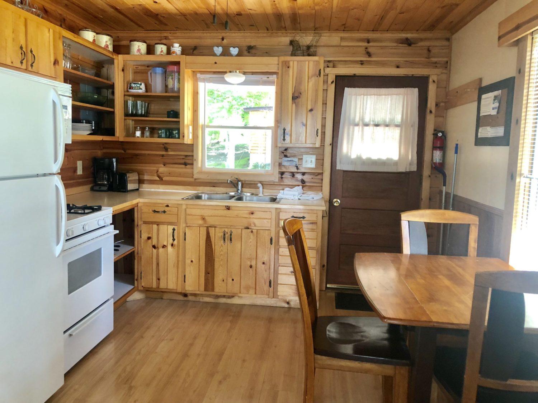 Cabin #3 Kitchen
