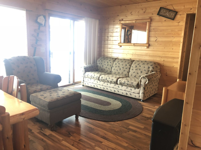 Cabin #5 Living Area