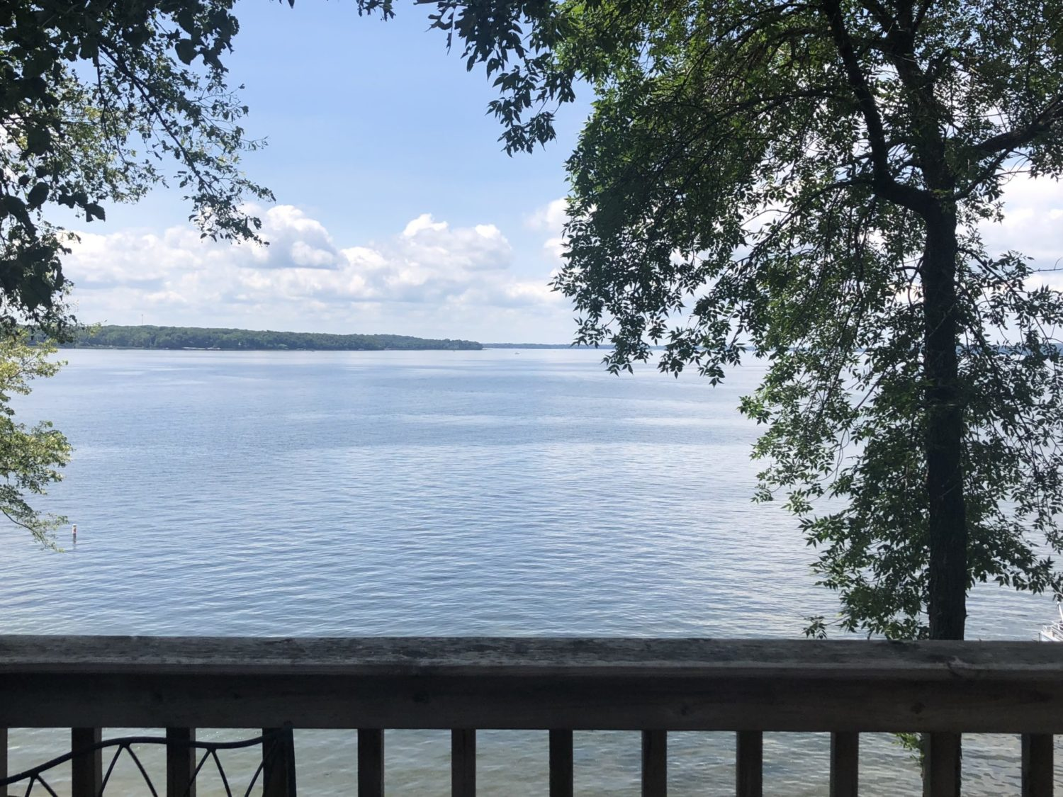 Lake view from Vacation Home #4