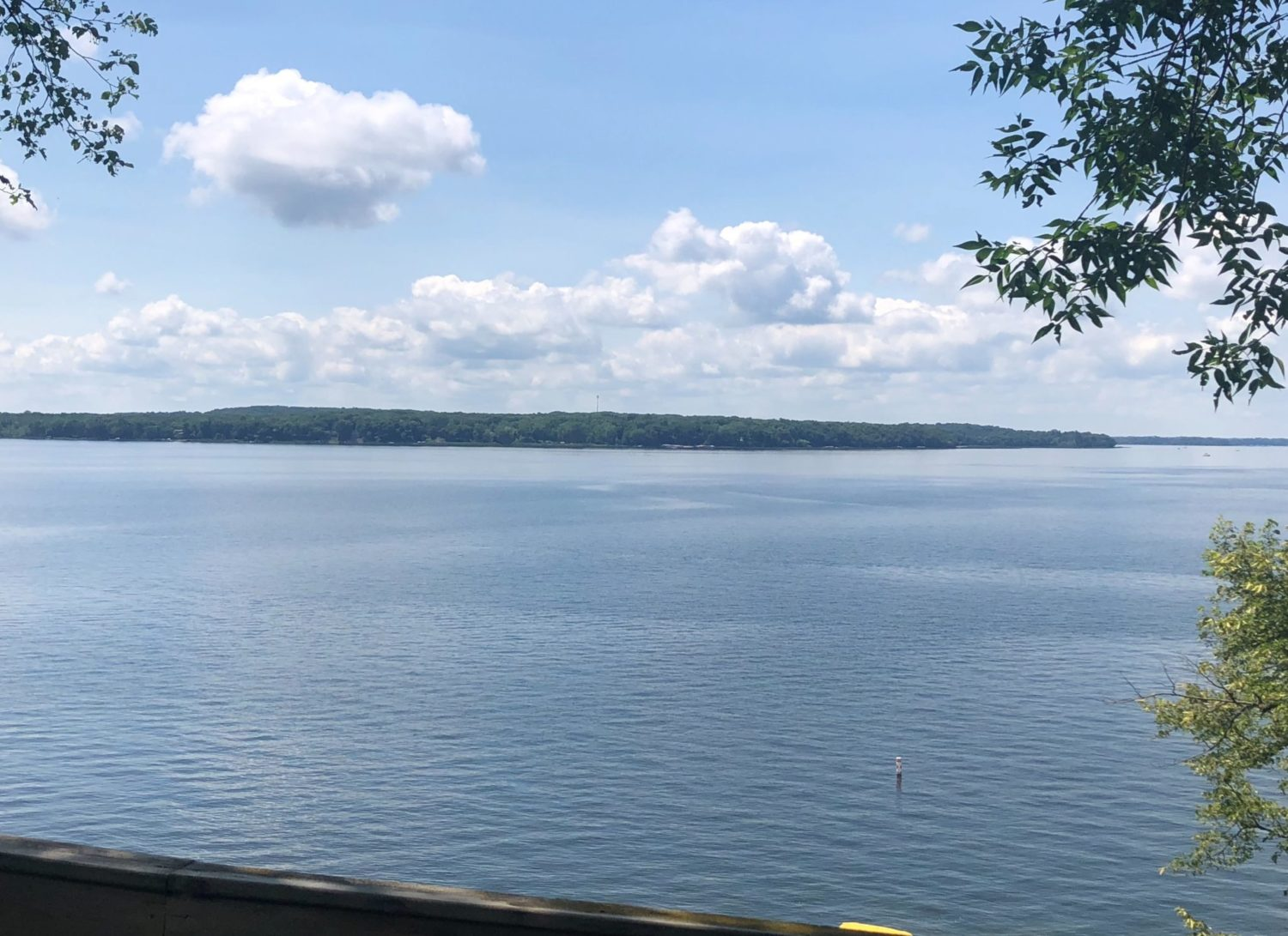 Lake view from Vacation Home #6