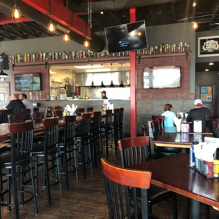DJs Tap House and Grill in Alexandria, Minnesota